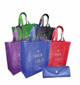 In-stock Promotional Reusable Logo Printed Non-Woven Grocery Bags/Custom, Customize Bag