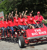 The Heart and Stroke Big Bike Comes to Stettler!