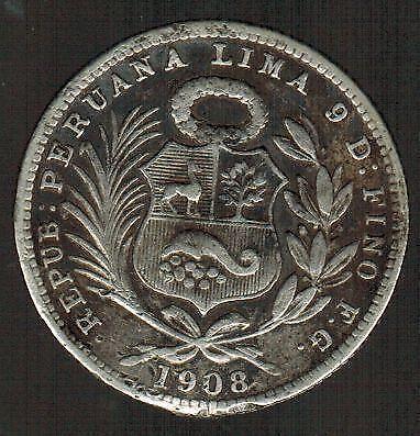 Peru Silver Coin Ebay