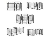 Milo & Misty Heavy Duty Playpen. Dog, Puppy, Rabbit, Guinea Pig. Modular Pet Enclosure. (80 X 80cm)