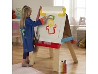 Child's Easel - drawing/painting/blackboard/whiteboard