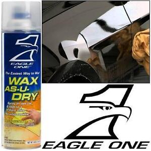 NEW EAGLE ONE CAR WAX AS U DRY 18OZ Wax As-U-Dry Aerosol - AUTOMOTIVE POLISHER - WAXING - EXTERIOR CAR CARE 106533643