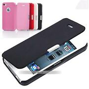 iPhone 4S Slim Leather Flip Case