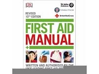 first aid manual £2.00 almost new copy