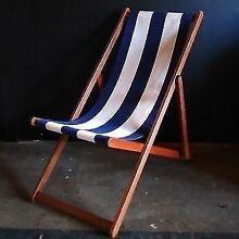 Gorgeous Retro Style Deck Chairs - from Ici et La Sydney Paddington Eastern Suburbs Preview