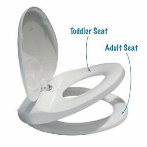 Easy Potty Training Integrated Adult/Child Toilet Seat in One    !NEW!