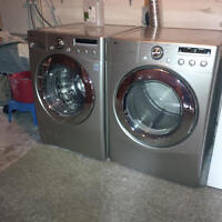 BIG DEAL! Don't wait!! Nice 4 yr old LG washer and dryer!