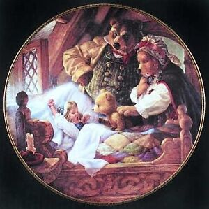 "Collector Plate: ""Goldilocks and the Three Bears"" Peterborough Peterborough Area image 1"