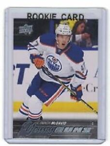 Connor McDavid Rookies cards and inserts