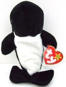 Waves the Whale Ty Beanie Baby stuffed animal Kitchener / Waterloo Kitchener Area image 1