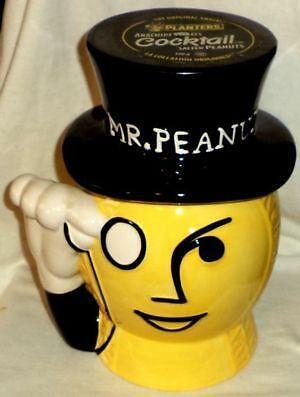 Mr Peanut Cookie Jar Ebay