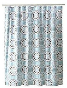 Brown And Gray Shower Curtain. Blue and Brown Shower Curtains Curtain  eBay