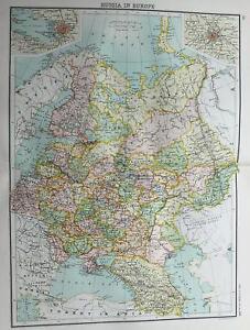 Europe map ebay europe wall maps gumiabroncs Choice Image