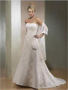 (2) Day and evening wedding dresses