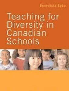 Teaching for Diversity in Canadian Schools UNB text