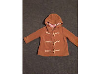 Next Coat Brown age 18-24 months