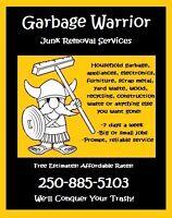 Garbage Warrior Junk Removal - Free Estimates