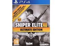 PS4 Sniper Elite 3 Ultimate Edition - Brand new and Sealed.