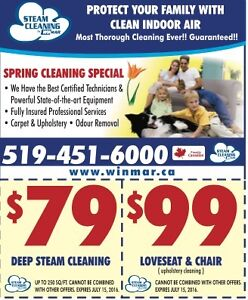 Carpet Cleaning. Steam Cleaning By Winmar, London, ON London Ontario image 2