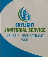 Skylight Janitorial office cleaning looking for new contracts