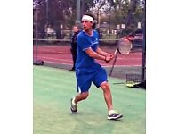 Tennis Coach Ex Pro Player