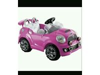 Chad Valley 6v Cabriole Car Pink