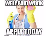 Cleaning Jobs - Cleaners Wanted, Earn £450/week £8.85-9.85/h Full/Part-time in Surbiton & Kingston