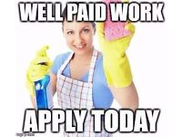 Cleaning Jobs - Cleaners Wanted, Earn £450/week £8.85-9.85/h Full/Part-time in Kingston