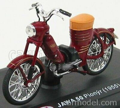 ABREX 118M 001 SCALA 1/18 JAWA 50 PIONYR 1955 BORDEAUX MODEL