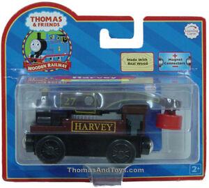 HARVEY-Thomas-Wooden-The-Crane-Engine-Train-Toy-B-NIB-USA-Seller