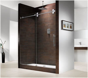 10mm Tempered Glass shower door and shower enclosure