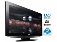"SHARP 37"" FHD TV - Freeview - USB - PC - 2 x HDMI - DVB-T - Scart - S-Video - Bargain RRP £289"