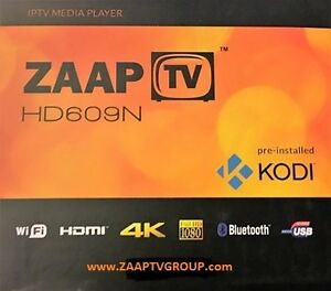 ZAAPTV HD609N - OVER 1300 ARABIC and GLOBAL CHANNELS - NO MONTHLY FEES