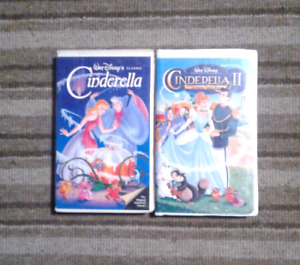 Cinderella collections Walt Disney movies on VHS Excellent