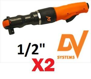 NEW DV( Air tools) TOOLS HEAVY DUTY AIR RATCHET WRENCHS (x2 New