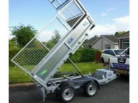 NEW GALVANISED TIPPING TRAILERS
