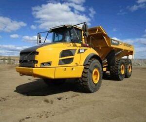 Rock Truck/Heavy Equipment Rental