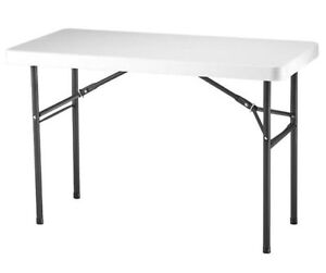 LIFETIME 4-foot utility folding table