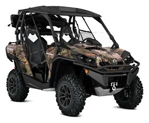 Can-am Camo Commander Side by Side