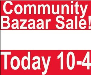 Bazaar Lawn Signs For Sale!