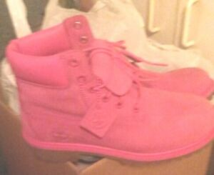 Ladies pink Timberland Boots REDUCED