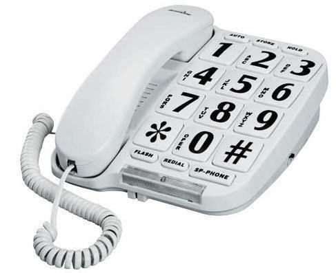 Big Button Telephone Home Phones Amp Accessories Ebay