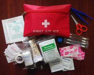 First Aid Survival Bag