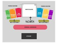 Lionel Richie Amazing Centre Front Row Seats x2 AT COST Scarborough 19 June