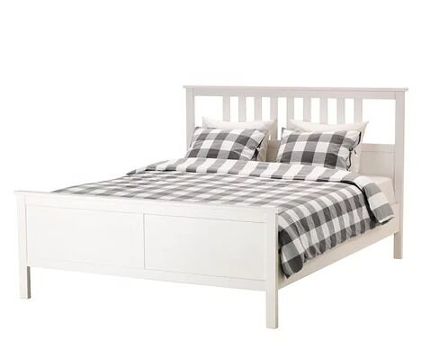 ikea double bed hemnes plus memory foam mattress mint condition