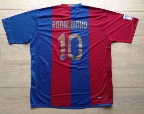 6ebd37171 Ronaldinho Barcelona Shirt