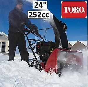 "NEW TORO SNOWMASTER 824 QXE 36003 206437639 SNOW BLOWER 24"" 252cc SNOWBLOWER"