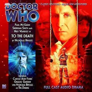 Doctor who big finish (CD)  - TO THE DEATH