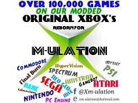 Refurbished Original XBox 320GIG, All Games, All Leads, One Controller