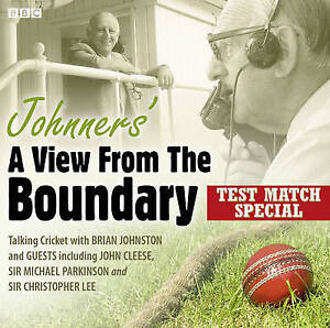 BRIAN JOHNSTON - JOHNNERS A VIEW FROM THE BOUNDARY - CD AUDIO BOOK - NEW/SEALED